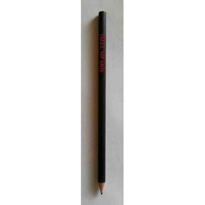 SİP16 , 1.000 Ad. Özel Sipariş Siyah Kurşun Kalem ( özel sipariş YAZI-LOGO yazılır ) resmi