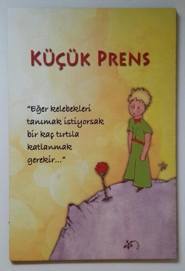 Tahta Poster  Küçük Prens ( 20 cm * 30 cm ) resmi