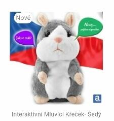 Picture of Interaktivni Mluvici Krecek-Sedy